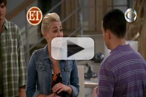 VIDEO: Sneak Peek - Miley Cyrus on CBS' TWO AND A HALF MEN