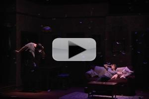 BWW TV: FALLING Opens Tonight at Minetta Lane Theatre - Highlights!