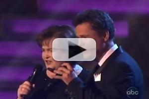 VIDEO: Susan Boyle, Donny Osmond Perform 'This Is The Moment' on DWTS