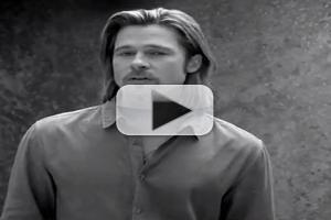 VIDEO: Brad Pitt Featured in Second CHANEL N°5 Ad