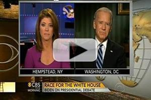 VIDEO: Joe Biden Chats 2nd Presidential Debate on CBS THIS MORNING