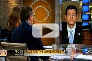 VIDEO: Paul Ryan Chats 2nd Presidential Debate on CBS THIS MORNING