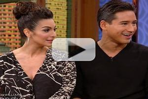VIDEO: Mario Lopez Guests on THE WENDY WILLIAMS SHOW