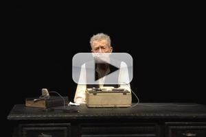STAGE TUBE: Interviews with John Hurt, Eric Idle and More in Opening Night of KRAPP'S LAST TAPE at Center Theatre Group