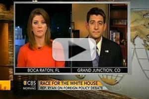 VIDEO: Paul Ryan Discusses Last Night's Debate on CBS THIS MORNING