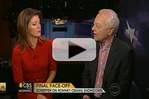 VIDEO: Debate Moderator Bob Schieffer Visits CBS THIS MORNING
