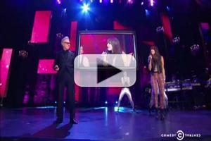 STAGE TUBE: Carly Rae Jepsen, Harvey Keitel and Lawrence Leritz Perform 'Call Me Maybe' on NIGHT OF TOO MANY STARS!