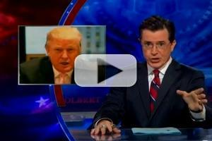 VIDEO: Stephen Colbert Responds to Trump's $5 Million Offer