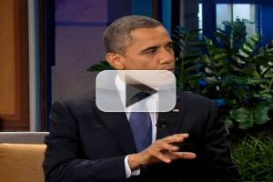 VIDEO: President Obama Visits THE TONIGHT SHOW WITH JAY LENO