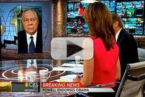 VIDEO: Colin Powell Endorses President Obama on CBS THIS MORNING