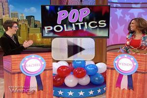 VIDEO: Rachel Maddow, Wendy Williams Get into 'Pop Politics'