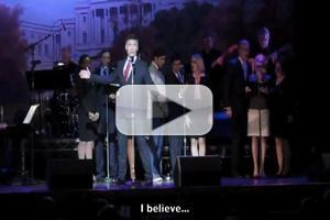 STAGE TUBE: Barrett Foa Spoofs Presidential Candidate Mitt Romney With THE BOOK OF MORMON's 'I Believe'