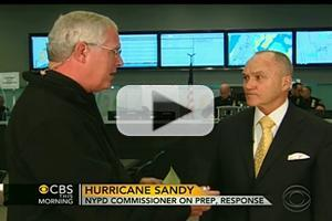 VIDEO: NYPD Commissioner Ray Kelly Talks Hurricane Prep on CBS THIS MORNING