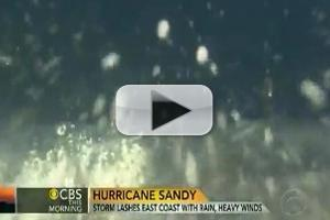 VIDEO: CBS Reporter Knocked Down by Roque Wave While Reporting