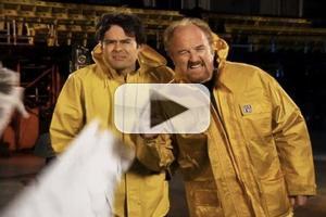VIDEO: Louie C.K. Braves Hurricane Sandy in SNL Promo