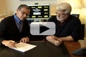 VIDEO: George Lucas Signs Disney Acquisition Agreement