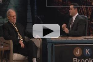 VIDEO: Letterman Visits JIMMY KIMMEL LIVE