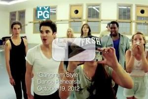VIDEO: Sneak Peek - Criss & Ushkowitz Go 'Gangnam Style' on GLEE