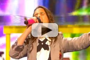 STAGE TUBE: Carly Rose Sonenclar Performs 'Something's Got a Hold on Me' on THE X FACTOR!