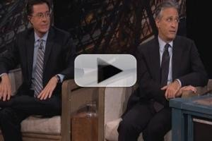VIDEO: Colbert, Stewart Visit ABC's JIMMY KIMMEL