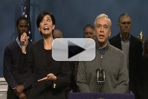 VIDEO: SNL Presents 'Bloomberg's Hurricane Sandy Address' Opening, 11/3