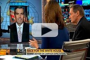 VIDEO: Romney Campaign Adviser Discusses Today's Election on CBS THIS MORNING
