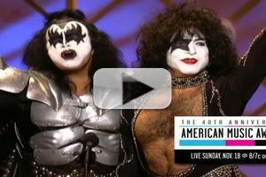 VIDEO: Sneak Peek - THE 40th ANNIVERSARY AMA's on ABC