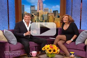 VIDEO: Hasselhoff Stops by THE WENDY WILLIAMS SHOW