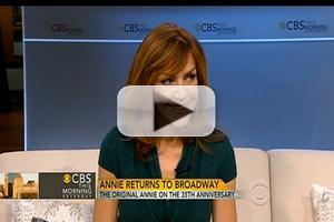 STAGE TUBE: Broadway's Original 'Annie' Andrea McArdle Appears on CBS THIS MORNING