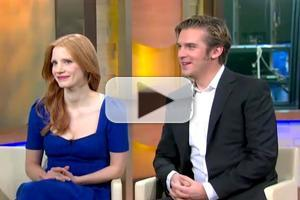 VIDEO: Jessica Chastain, Dan Stevens Chat THE HEIRESS on GMA