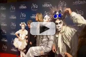 STAGE TUBE: Stars Gather for Cirque du Soleil's ZARKANA Premiere in Las Vegas!