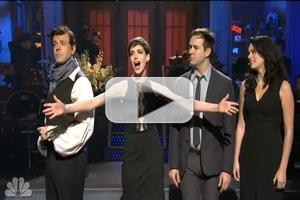 STAGE TUBE: Anne Hathaway's LES MIS Monologue on SNL!