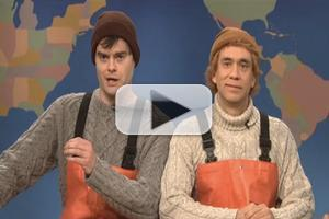 VIDEO: SNL Presents 'Weekend Update: Gay Couple from Maine,' from 11/10