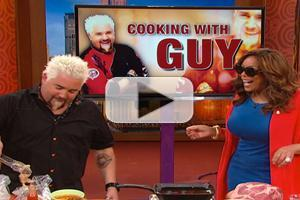 VIDEO: THE WENDY WILLIAMS SHOW - Guy Fieri to Donate 50% of Restaurant Profits to Red Cross