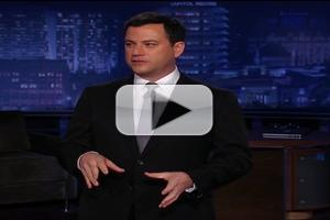 VIDEO: Highlights from ABC's JIMMY KIMMEL LIVE - Week of 11/5