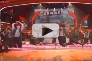 VIDEO: NEWSIES Cast Performs 'Seize The Day' on DWTS!