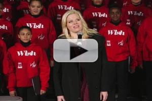 STAGE TUBE: SMASH's Megan Hilty Performs at Lord & Taylor Holiday Celebration