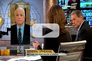 VIDEO: John McCain Chats Petraeus Scandal on CBS THIS MORNING