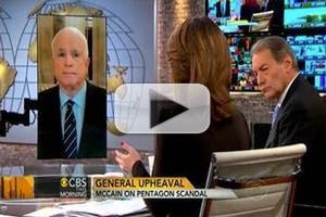 VIDEO: John McCain Chats Petraeus Scandal on CBS THIS MORNING