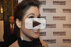 BWW TV: Chatting with the Cast of THE MYSTERY OF EDWIN DROOD on Opening Night- Block, Chase, Rivera & More!