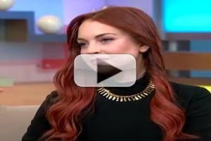 VIDEO: Lindsay Lohan Talks Upcoming Lifetime Movie LIZ & DICK