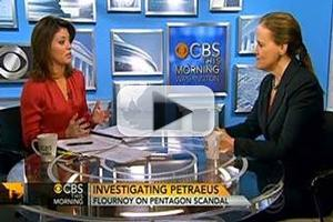VIDEO: Foreign Policy Advisor Michèle Flournoy Visits CBS THIS MORNING
