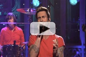 VIDEO: Maroon 5 Performs 'One More Night' on SNL