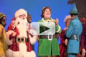 BWW TV: Inside ELF's Opening Night Curtain Call!