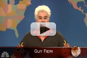 VIDEO SPECIAL: The Guy Fieri Sketch Cut from Last Weekend's SNL