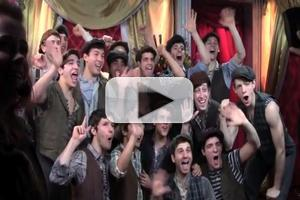 STAGE TUBE: NEWSIES Travel Cross-Country for ABC's DANCING WITH THE STARS!