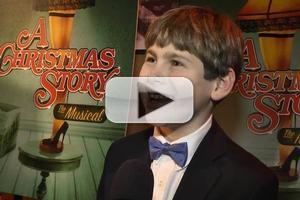 BWW TV: Chatting with the Cast of A CHRISTMAS STORY on Opening Night!