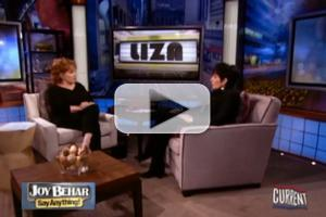 STAGE TUBE: Liza Minnelli Talks Childhood on JOY BEHAR!