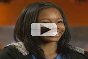 VIDEO: Olympian Gabby Douglas Visits CBS's PERSON TO PERSON