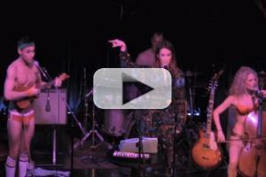 STAGE TUBE: Laura Benanti Joins The Skivvies at the Cutting Room